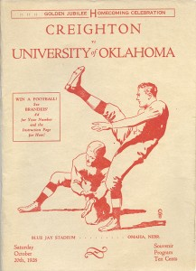 #10 - 1928 Oklahoma Program Cover