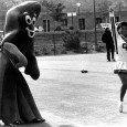 It's been a while since we did a favorite photo, so this week we bring you Gumby* and cheerleader Tina Otterstedt at Homecoming in the 1980s. Thank you, online Creighton...