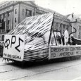 With Homecoming this week at Creighton we thought we'd take a look back at a few of the Homecoming floats throughout the years. This first photo shows a float designed...