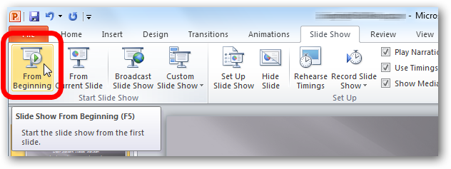 PowerPoint 2013: Present a PowerPoint File Online