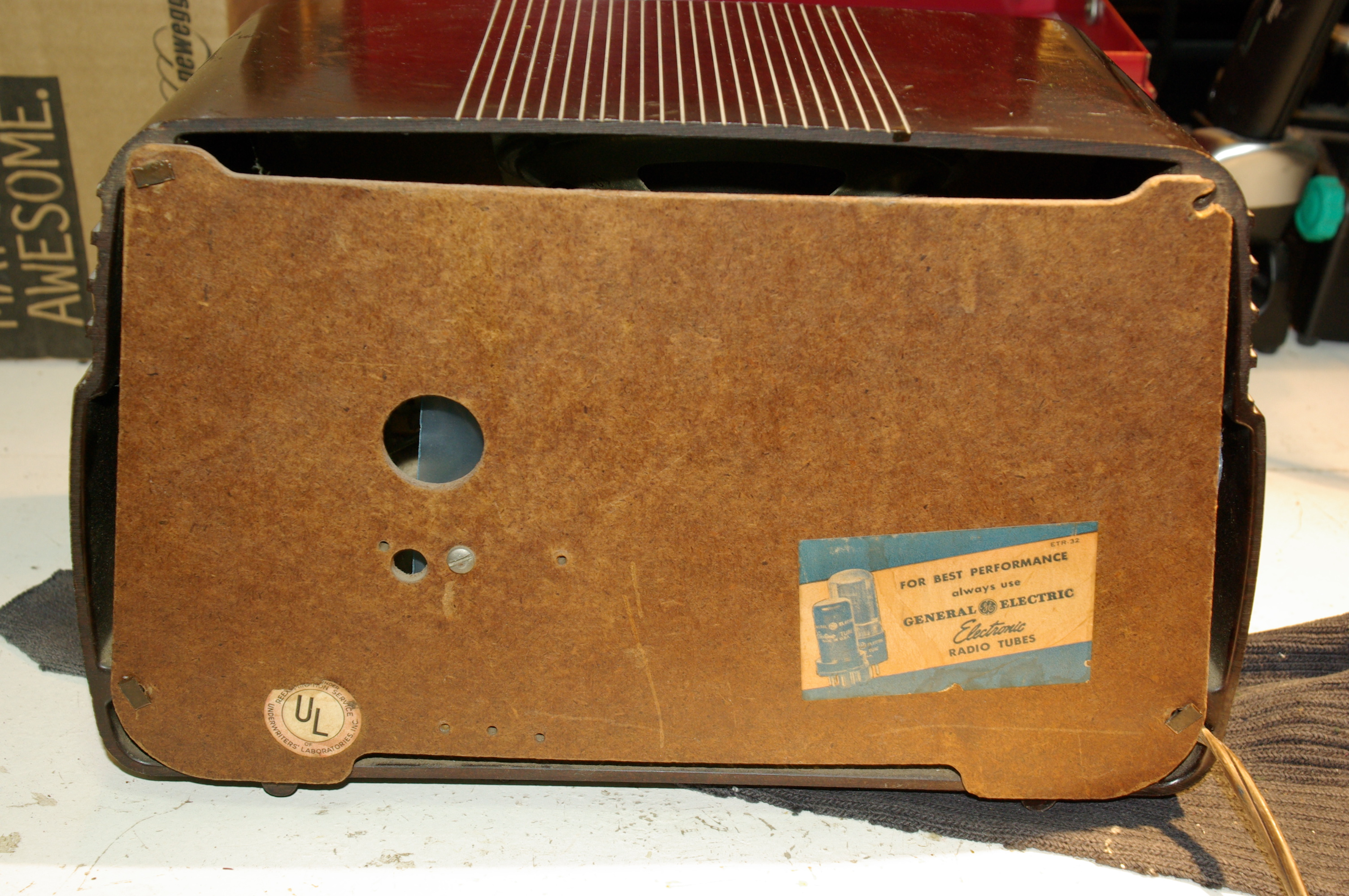 General Electric Model 202 Chris Wilmes's Blog. Not Much To Mention About Restoring This Radio It Worked When I Got And After Recapping The Unit Giving A Cleaning Still Works. Wiring. Zenith Tube Radio Schematics Model 6s At Scoala.co